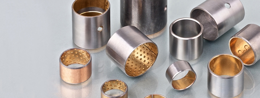Self-lubricating bearings